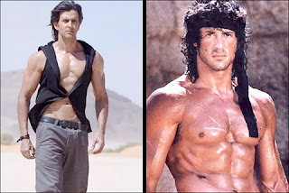 Sylvester initial series of world famous movie 'Rambo'