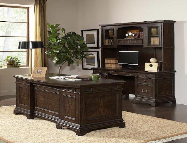best buy executive home office furniture wood desk sets for sale