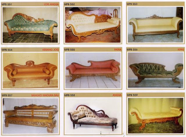 sofa santai kayu