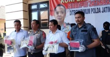 Polda Jawa Timur Berhasil Meringkus Kawanan Pencurian Kendaraan Bermot