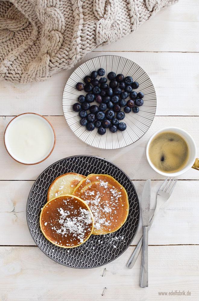 einfaches Pancakes Rezept, leckere Pancakes
