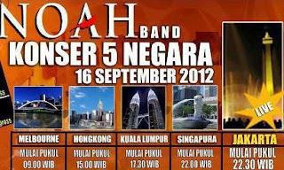 dengan sejuta prestasi dan karya ahli itulah NOAH 5 Hal Inspiratif dari NOAH