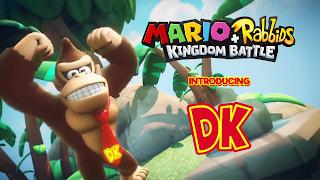 Mario + Rabbids Donkey Kong Wallpaper