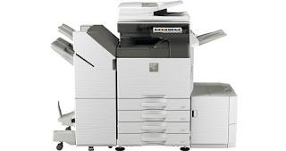 Sharp MX-6050 Printer Driver Download