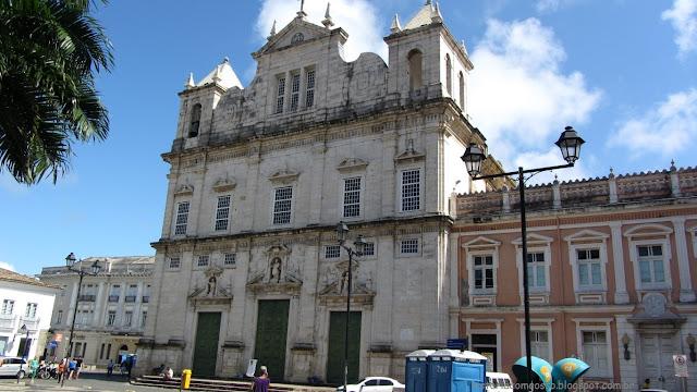 Historia de Salvador, Vista da Catedral Basilica