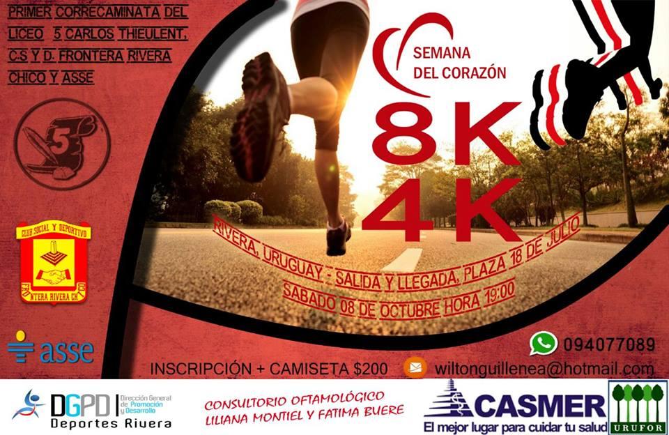 Run uruguay 1er correcaminata del liceo 5 club frontera for Inscripciones jardin 2016 uruguay