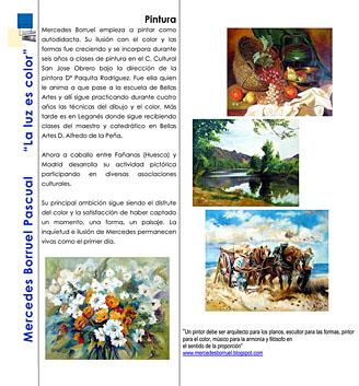 Fañanás: Exposición de Mercedes Borruel Pascual en el Espacio Ibercaja