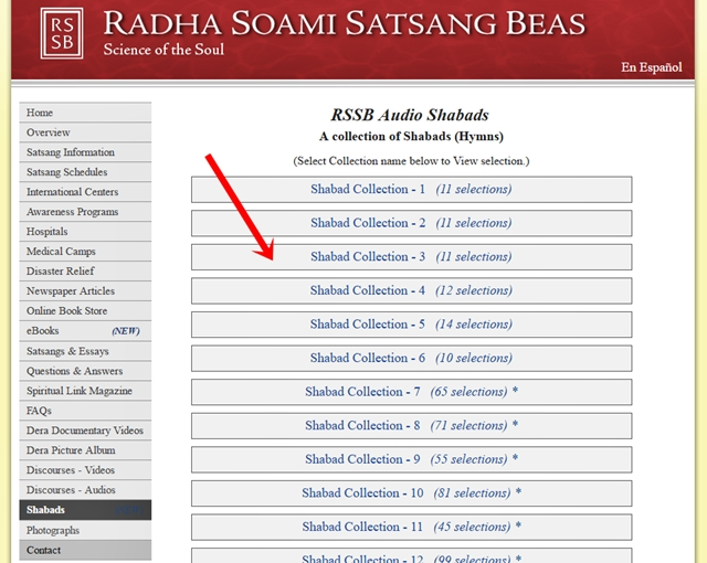 RSSB Audio Mp3 Shabads