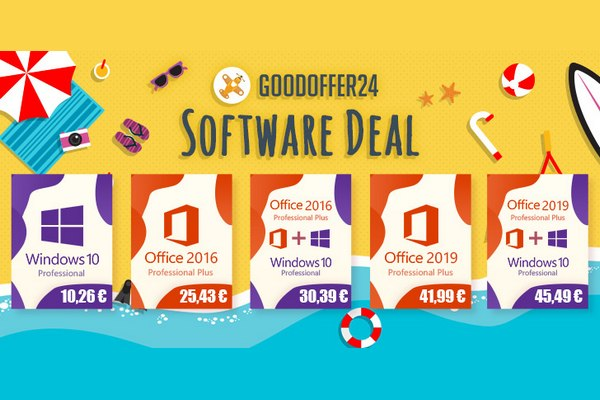 Windows 10 με 10,26€ και Office 2016 με 25.43€ - Δεν ξανάγινε λέμε!