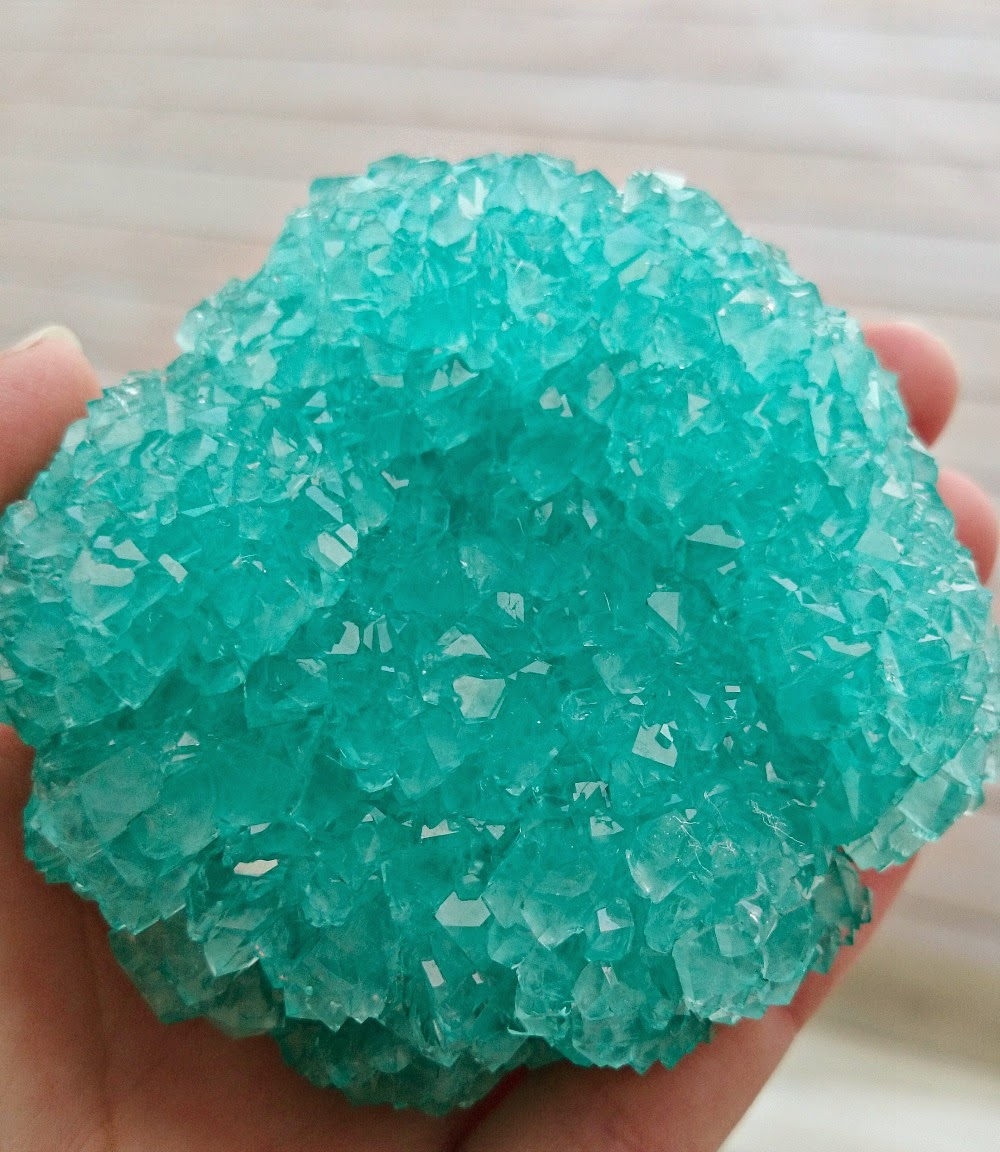 How to grown HUGE borax crystals