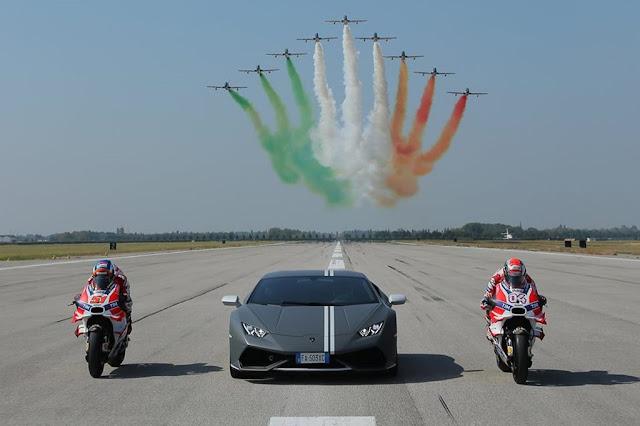 Frecce Tricolori Mugello Ducati Monza