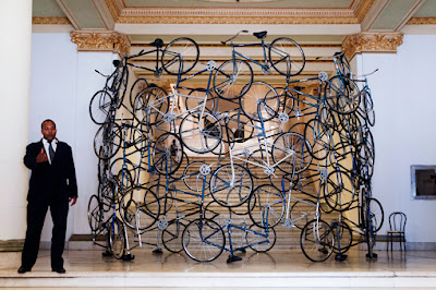 """Ai Weiwei / """"Forever Bicycles"""""""