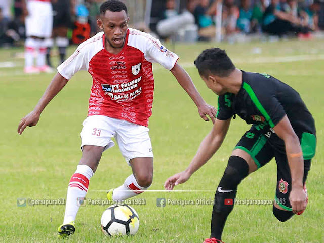 Persidago Gorontalo Menang Tipis 1-0 atas Persipura Jayapura