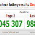 Thai Lotto Live Result For 01-12-2018