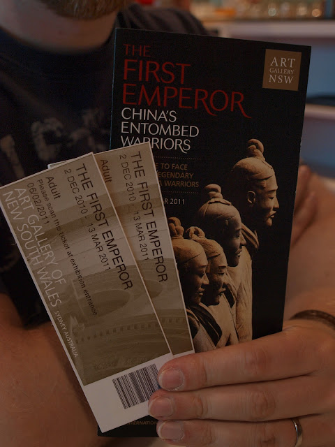 Terracota warriors exhibition
