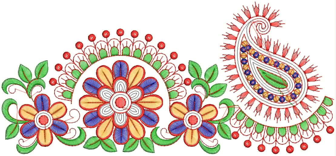 Embdesigntube Bollywood Wedding Designer Saree Lacework
