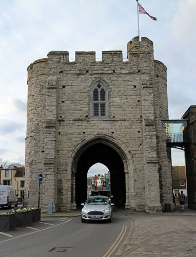 West Gate Canterbury.