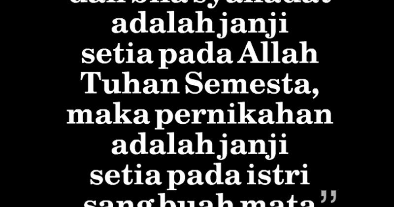 Kata Cinta Islami Untuk Suami Istri  Katakannet