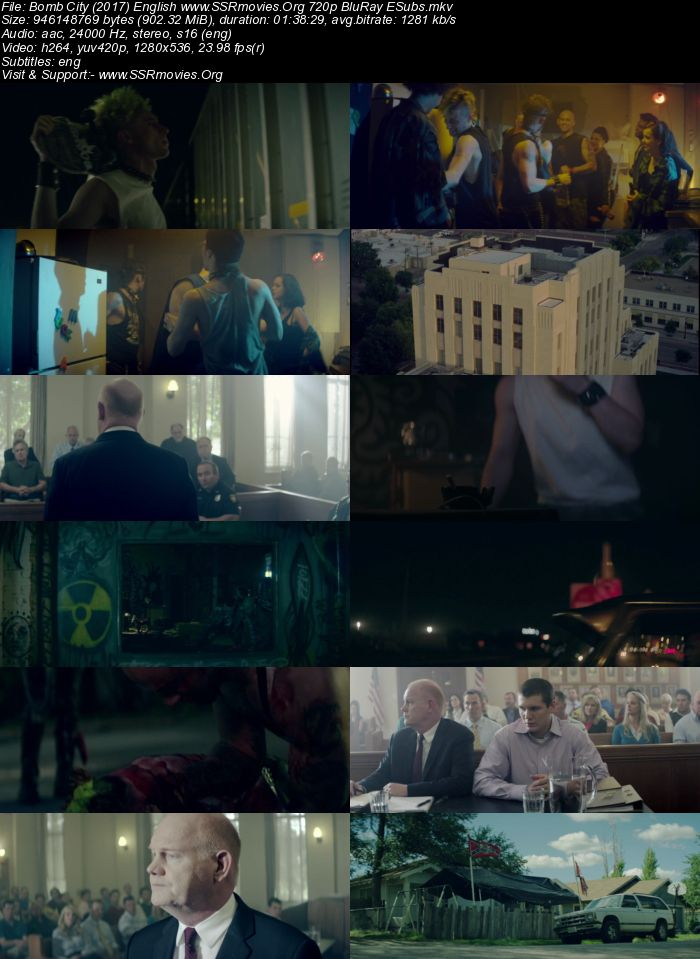 Bomb City (2017) English 720p BluRay