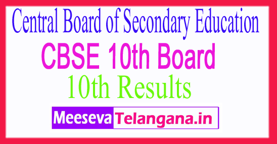 Central Board of Secondary Education CBSE 10th Result 2019