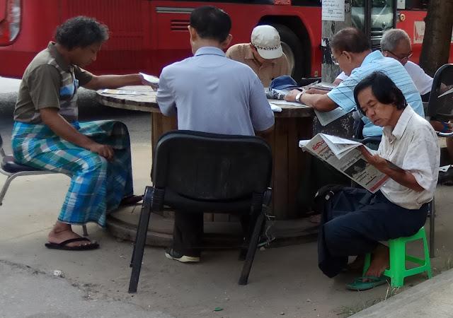 ေအာင္ၿငိမ္းခ်မ္း (Myanmar Now) ● နယ္သတင္းဌာနကို ေဒသခံတို႔ ပိုမိုအားကိုးဟု စာတမ္းတစ္ေစာင္တြင္ ေဖာ္ျပ
