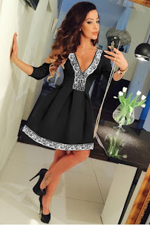 Rochie Eleganta Black Fit