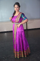 Shilpa Chakravarthy in Purple tight Ethnic Dress ~  Exclusive Celebrities Galleries 062.JPG