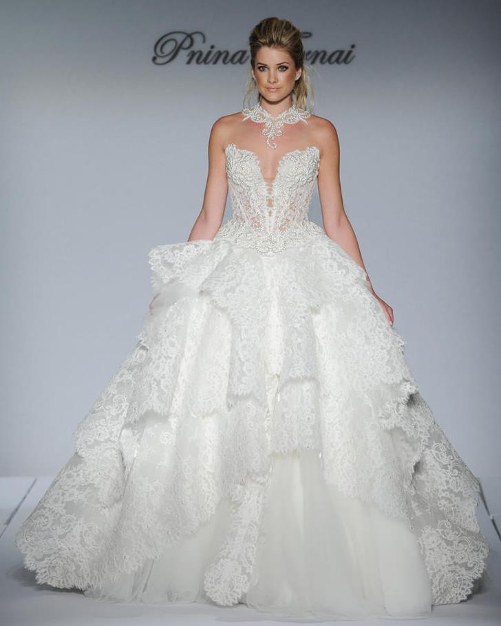 Pnina Tornai All Lace Wedding Dress | Wedding Celebration