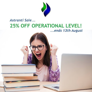 25% off on Astranti operational level materials - Coupon code