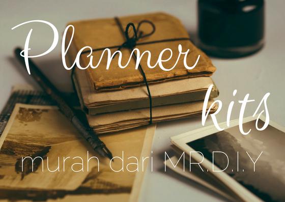 Planner Kits Murah dari MR. D I Y