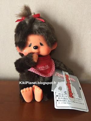 monchhichi crying girl, référence 226740, monchhichi qui pleure, kiki, toys vintage