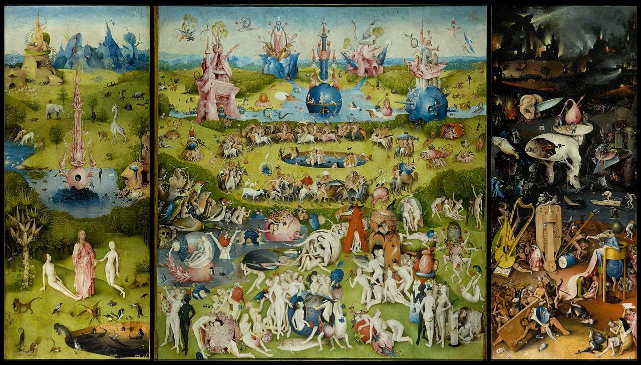 Bosch - Garden of Earthly Delight
