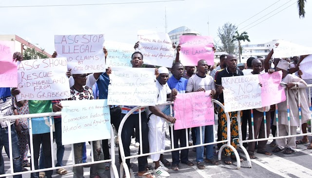 Agidingbi Community Storms Lagos Assembly Over Supreme Court Judgement Asking Them To Quit Ancestral Homes
