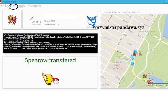 PokeCrot bot Pokemon Go anti baned