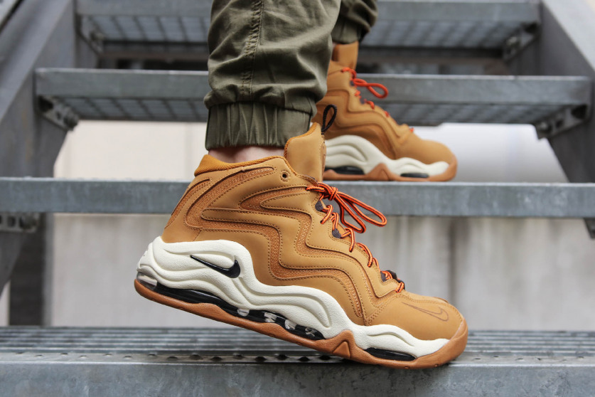 huge selection of 6b259 81e9f First Look Nike Air Pippen 1 Wheat