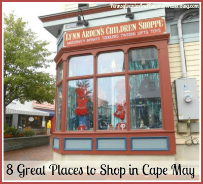 Lynn Arden's Children Shoppe in Cape May New Jersey