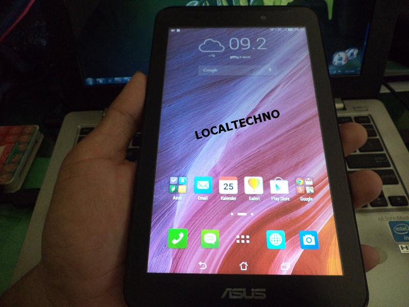 Cara Flash Ulang Asus Fonepad 7 K012 FE170CG Dijamin Work