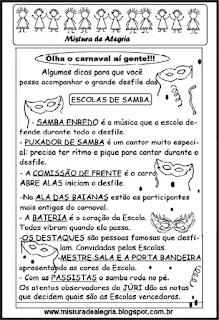 Roteiro de escolas de samba
