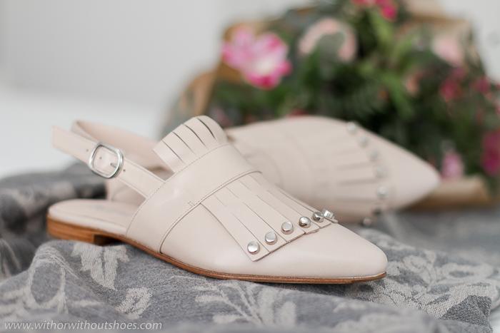 Compra de Zapatos online: nuevos Mules rosas, de Cortés Zapaterías