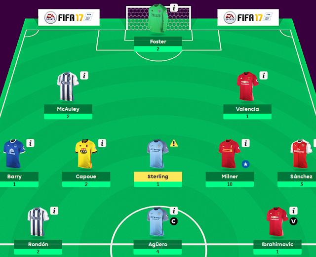 Update Fantasy English Premier League GW#7 [29 pt]