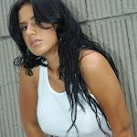 Andrea Rincon, Selena Spice Galeria 20: Tomando El Sol. Cachetero Rosa, Tanga Transparente y Top Blanco Foto 87