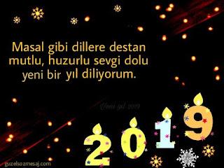 yeni yıl mesajları 2019