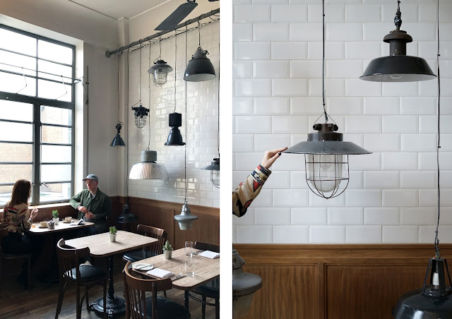 lamp room inside town hall hotel bethnal green london