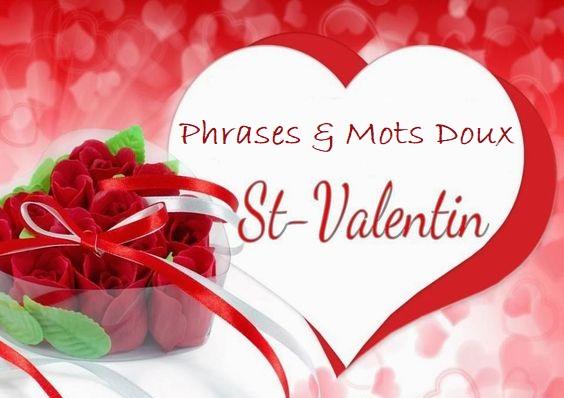 St-Valentin : Phrases et petits mots d'amour