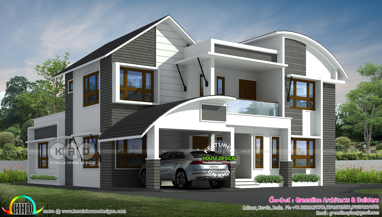 2020 - Kerala home design and floor plans
