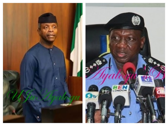 IG meets Osinbajo over IPOB, slams Wike
