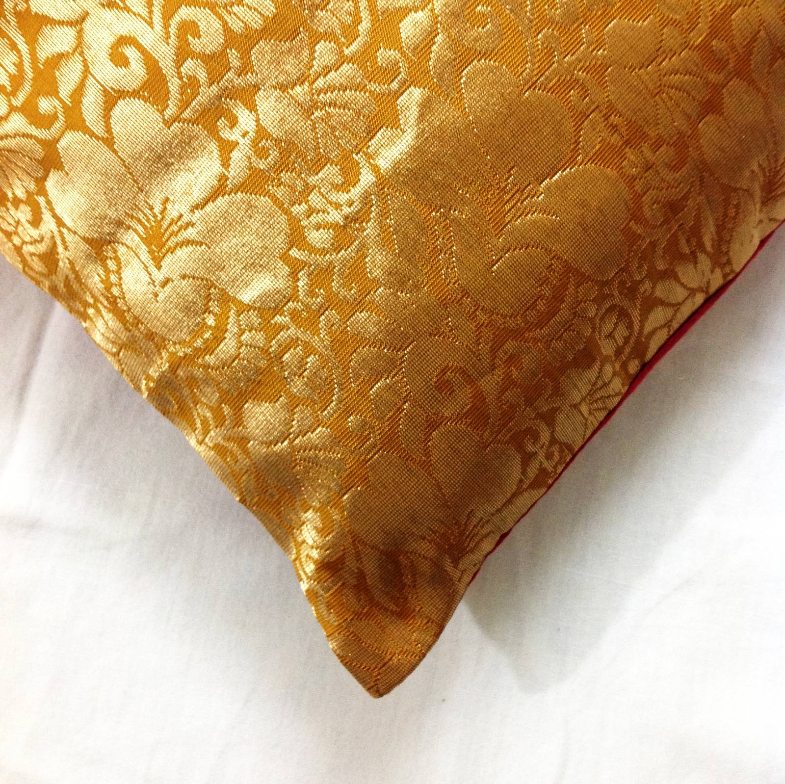 Silk Pillows And Shams: Indian Silk Pillows