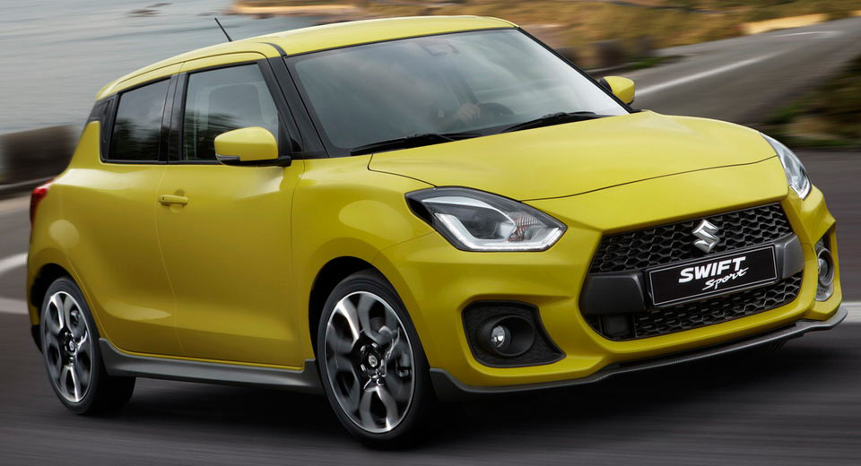 new suzuki swift sport packs 1 4 turbo weighs less than a tonne. Black Bedroom Furniture Sets. Home Design Ideas