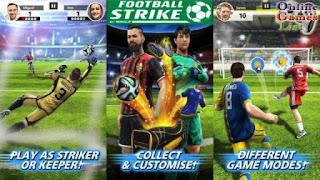 Game Sepak Bola Android / IOS Terbaik dan Terpopuler - Football Strike Multiplayer Soccer