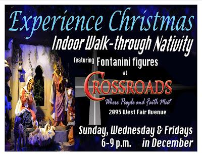 Lancaster First United Methodist Church Indoor Walk Through Nativity Featuring Fontanini Figures